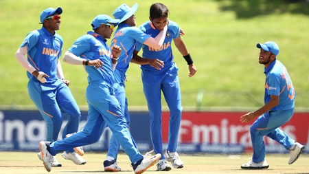 Aussies thumped by India in U19 World Cup quarter-final
