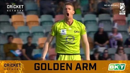 Sams slips ahead in race for the BBL|09 BKT Golden Arm