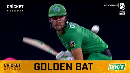 Stoinis strengthens his stranglehold on BKT Golden Bat