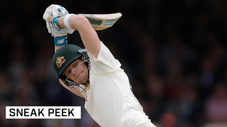 """I do some weird stuff"": Smith's batting quirks"