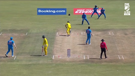Obstructing the field controversy at U19 World Cup