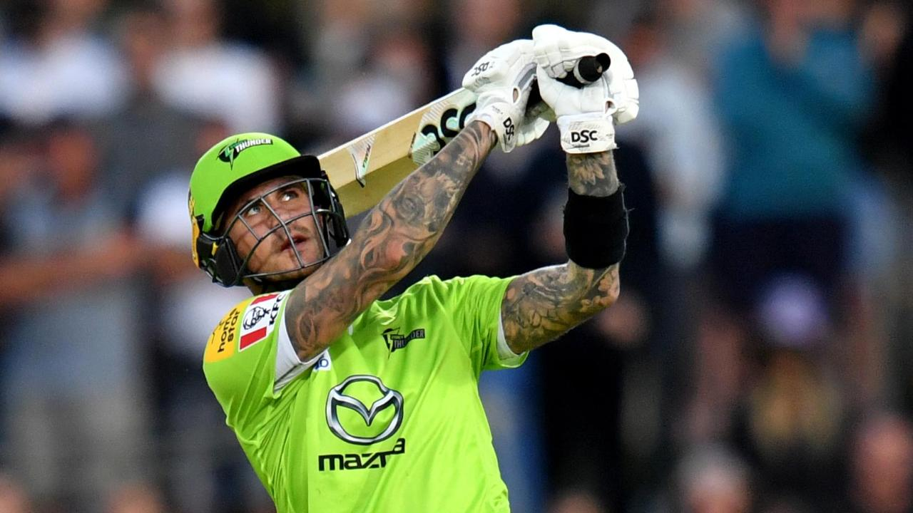 Hales goes huge against Hurricanes in Hobart