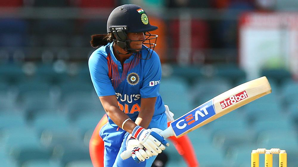 Harmanpreet launches six to seal victory for India