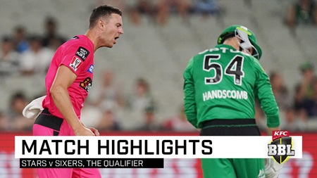 Sixers scythe through Stars to fly into BBL final
