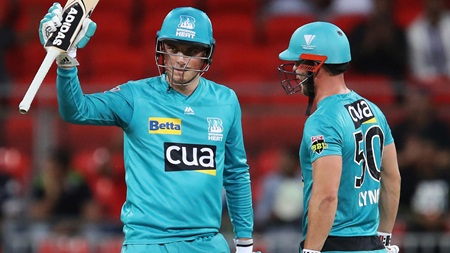Banton blasts second fastest fifty in BBL history
