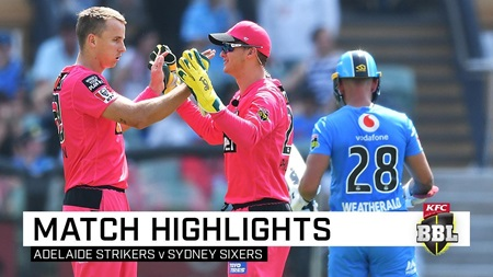 Sixers take points despite Rashid's BBL hat-trick