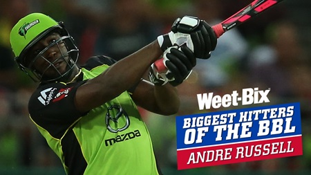 Biggest Hitters of the BBL: Best of Andre Russell