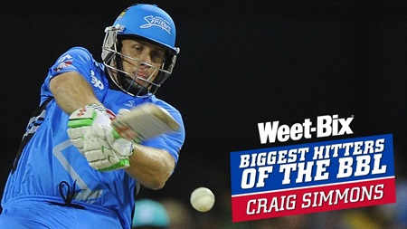 Biggest Hitters of the BBL: Best of Craig Simmons
