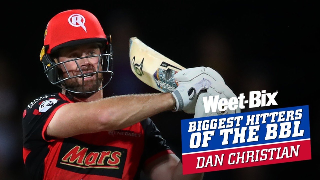 Biggest Hitters of the BBL: Best of Dan Christian