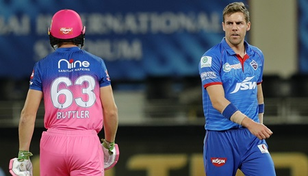 Buttler's crazy response to the fastest ball in IPL history