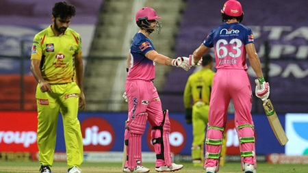 Buttler, Smith dominant as Rajasthan thrash Chennai