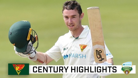 Doran breaks through for second Shield century