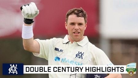 Harris on a high with stunning double ton in first bat