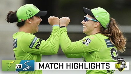 Knight, Smith ensure Thunder too strong for Strikers