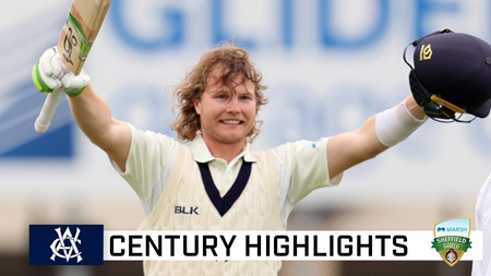 Pucovski makes a statement with Shield century as opener