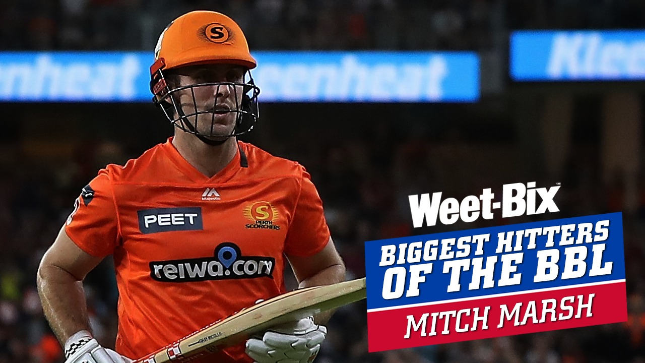 Biggest Hitters of the BBL: Best of Mitchell Marsh