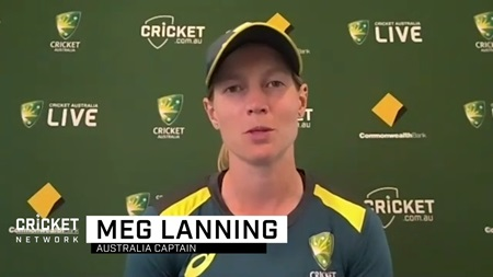 Lanning brushes off niggle as Aussies eye history