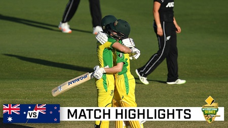 Second ODI: Lanning leads Aussies to 20th straight ODI win