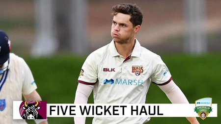 Swepson produces wonder-ball on way to five wickets