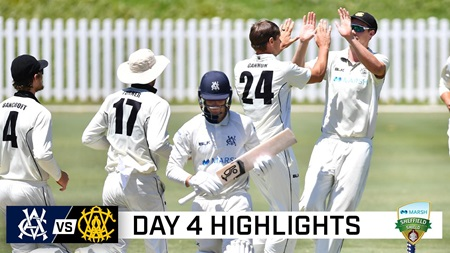 Pucovski falls for 38 as WAvVIC game ends in a draw