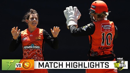Scorchers win over Thunder soured by Devine injury