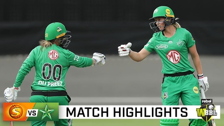 Stars edge out Scorchers in top-of-the-table clash