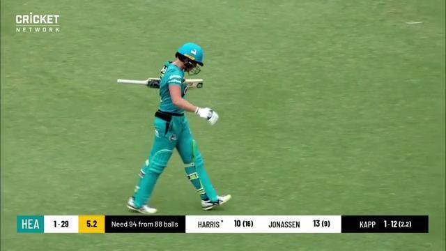 'Very lazy, unaware cricket': Bizarre dismissal rocks Heat
