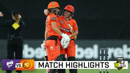 Scorchers flex their muscle with thumping win over Hobart