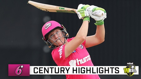Healy unleashes at North Sydney for epic WBBL hundred