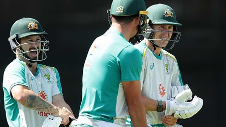 Wade ramps up white-ball prep with SCG slog session