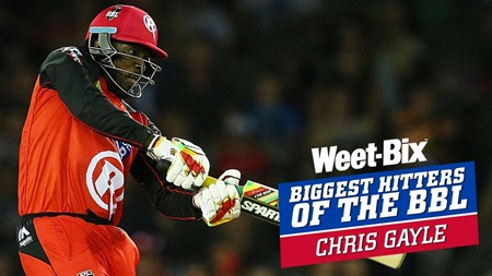 Biggest Hitters of the BBL: Best of Chris Gayle
