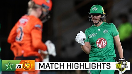 Stars dominate Scorchers to ease into WBBL Final