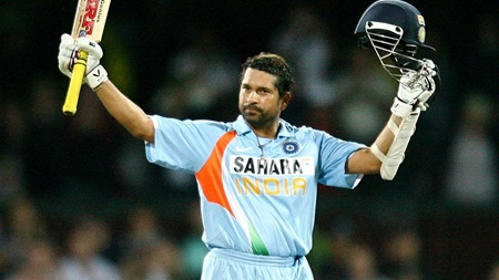 Super Sachin steers India to victory in first final