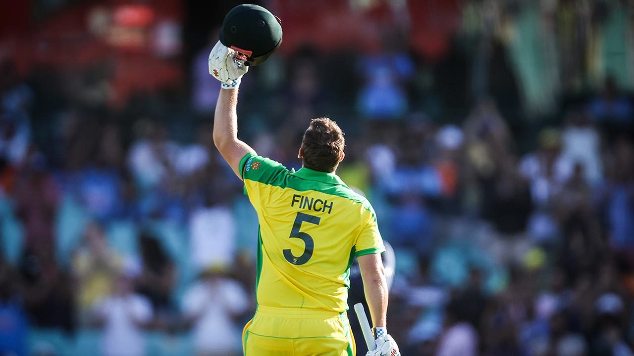 Finch acknowledges Hughes after bringing up emotional ton