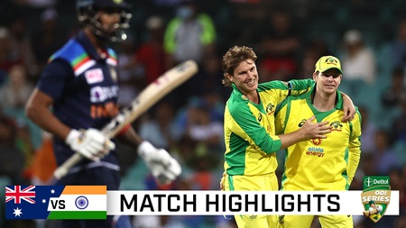Smith, Zampa shine in high-scoring first ODI