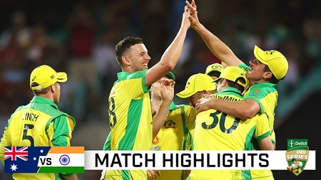 Batting onslaught, classic catches see Aussies seal 2-0 ODI series win