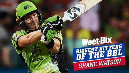 Biggest Hitters of the BBL: Best of Shane Watson