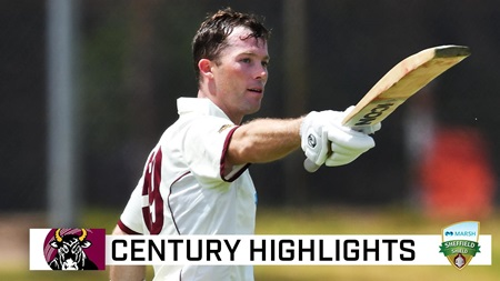 Peirson delight as he crashes maiden first-class century