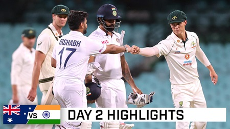 India pile on the runs against undermanned Aussies