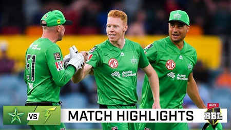 Maxwell's Stars claim maximum points over Thunder in Canberra