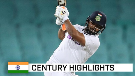 Pant whacks whirlwind hundred off just 73 balls