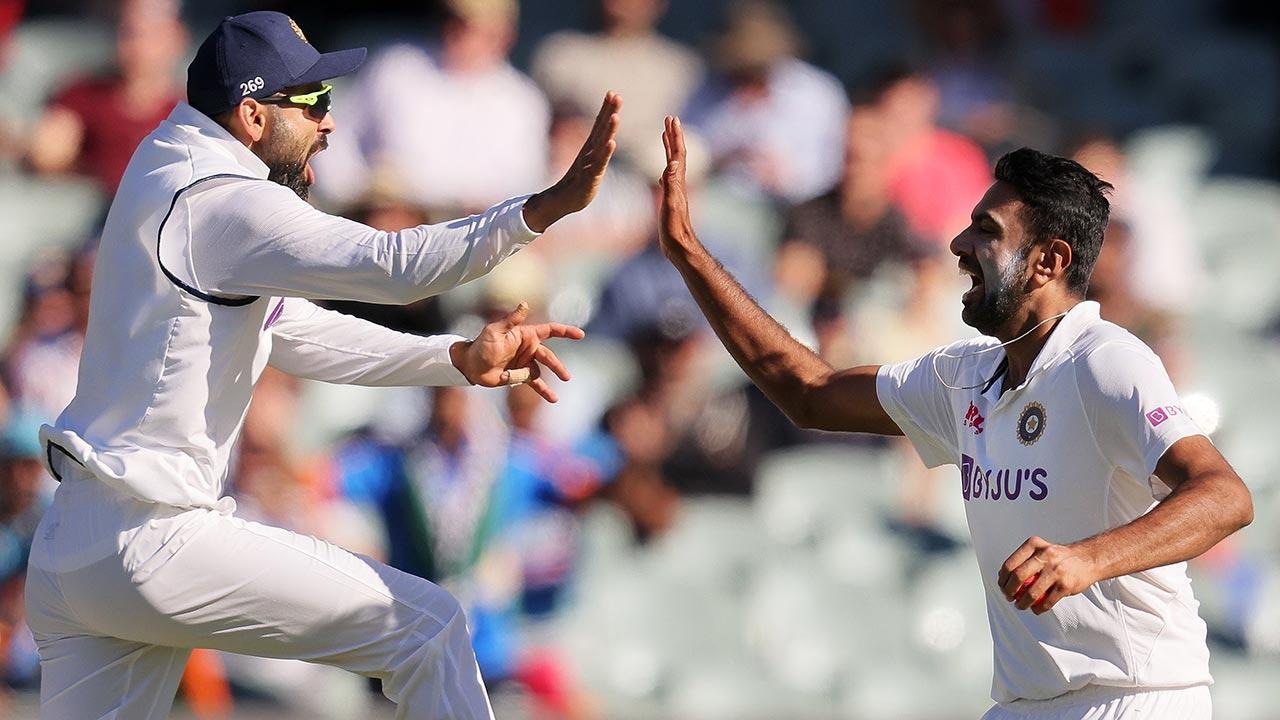 Ashwin leads the way with four vital wickets for India