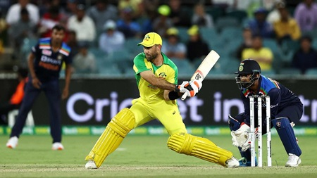 Maxwell's massive switch-hit six caps latest stunning innings