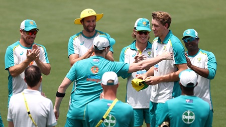 Smith's speech to welcome ODI debutant Green