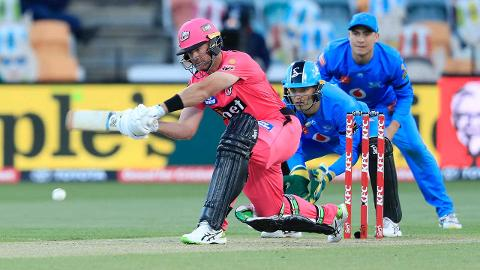 Christian puts Adelaide to the sword with 15-ball fifty