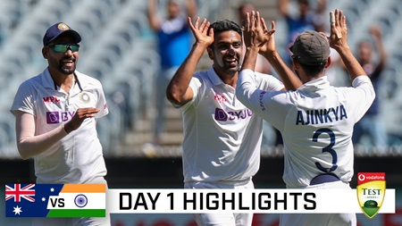 India's bowlers fire on entertaining Boxing Day
