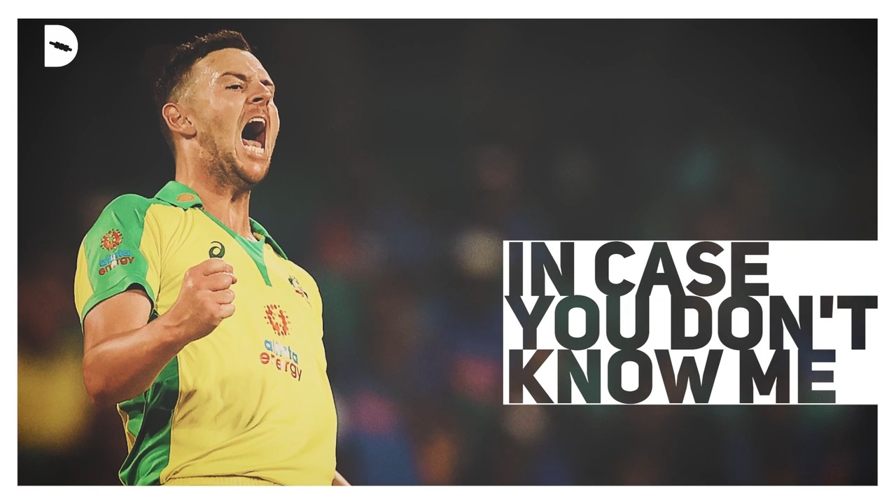 In case you don't know me: Josh Hazlewood