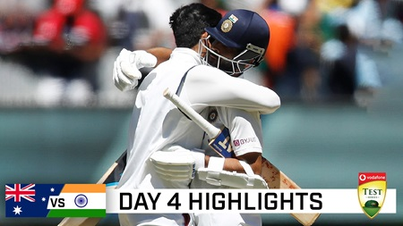 India level series at MCG with convincing eight-wicket win