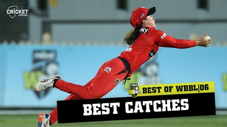 """Oh my word!"" The best catches from WBBL