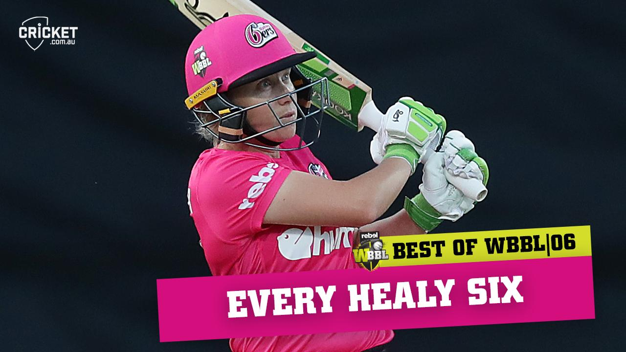 Every Alyssa Healy six from WBBL|06